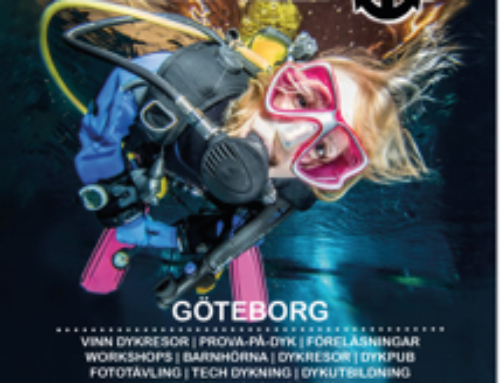 DykMassan – The Swedish Dive Show Mars 14-15, 2020 – Bli med oss!!