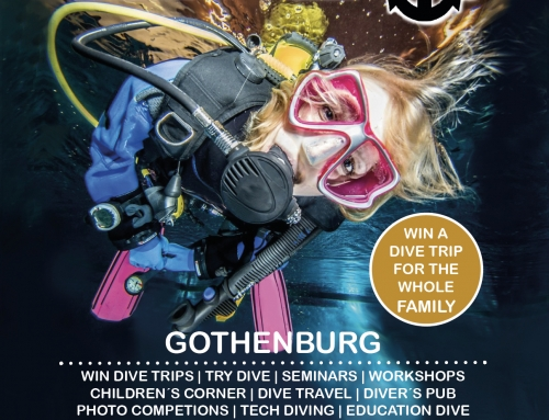 DykMassan – The Swedish Dive Show March 16-17, 2019 – Bli med oss!!